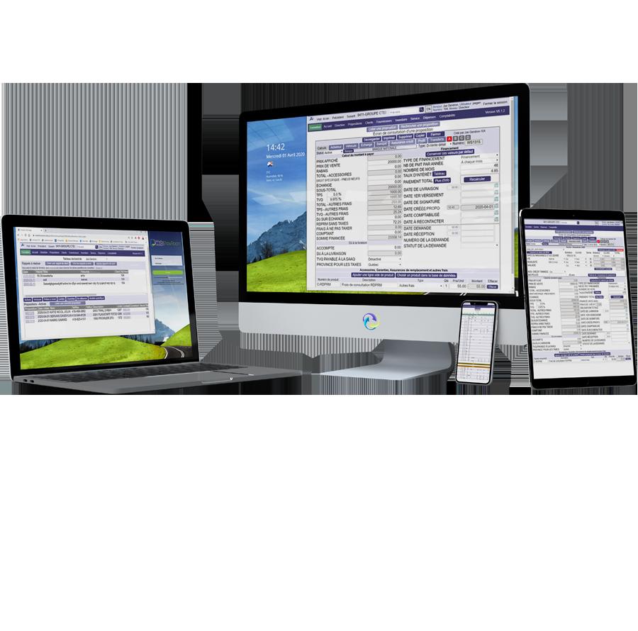 logiciel F&I services financiers et d'assurance